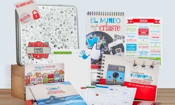 Cápsula del tiempo Peque Retrobox | Cápsula del tiempo para niños