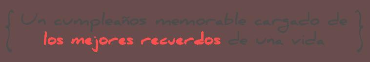 MyRetrobox: un cumpleaños memorable cargado de los mejores recuerdos de una vida
