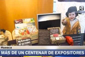 Cápsulas del tiempo MyRetrobox en Aragón TV