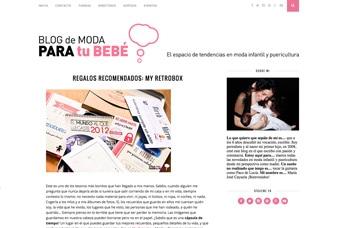Cápsulas del tiempo MyRetrobox en Blog de moda para el bebé