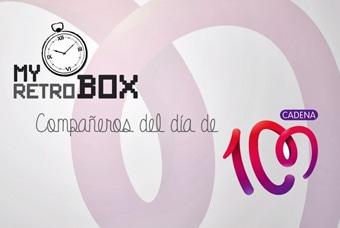 Cápsulas del tiempo MyRetrobox Compañeros del día de Cadena Cien