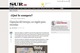 Cápsulas del tiempo MyRetrobox en Diario Sur
