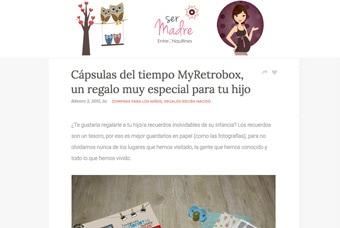 Cápsulas del tiempo MyRetrobox en La Razón