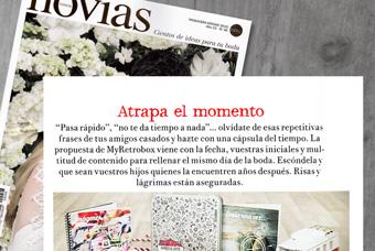 Retrobox Sí Quiero en la revista Novias de España