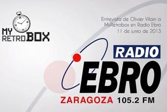 Entrevista a MyRetrobox en Radio Ebro