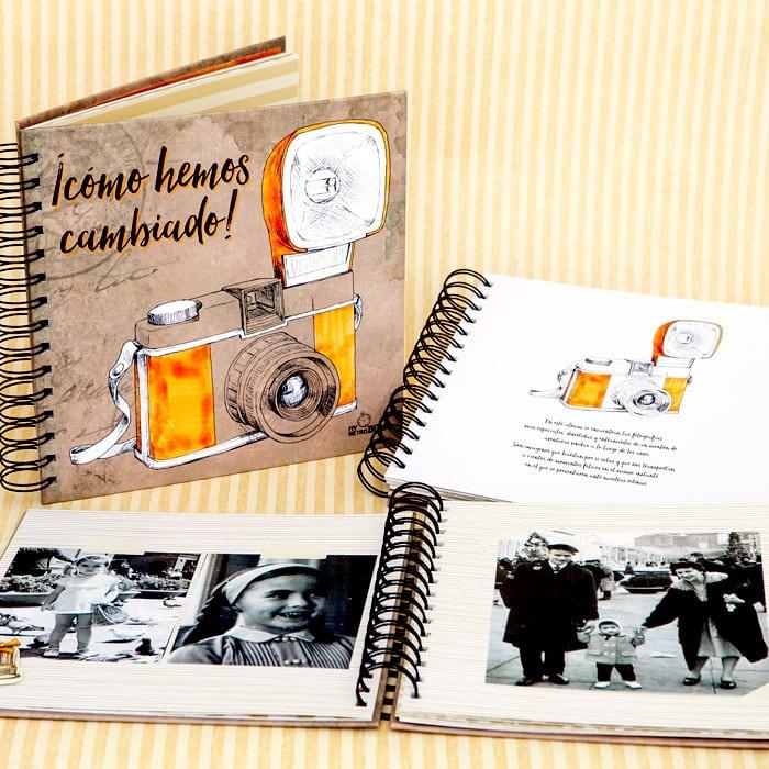 Álbum fotos regalo 60 años