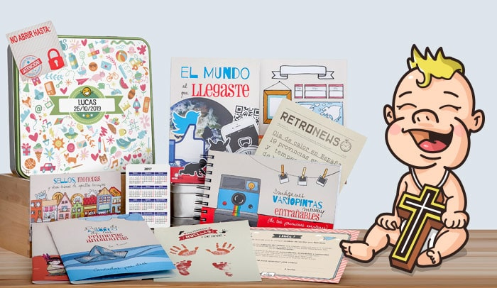 Regalo original bautizo