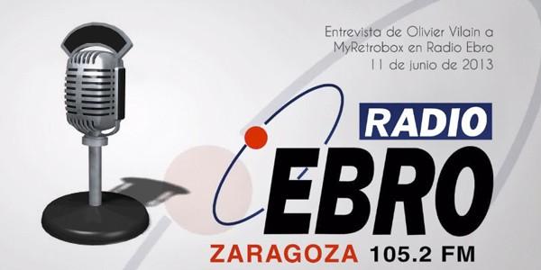 Entrevista a MyRetrobox en Radio Ebro, por Olivier Vilain