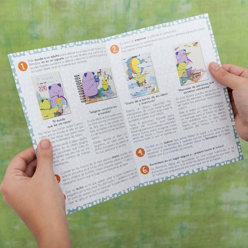 Instrucciones Peque Retrobox para niños