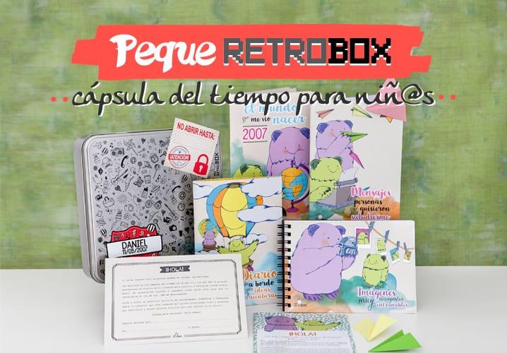 Regalo niño · Peque Retrobox
