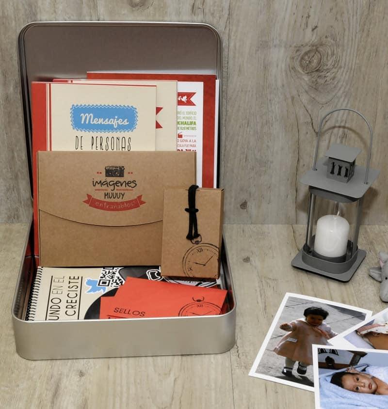 Peque MyRetrobox | Cápsula del tiempo para niños
