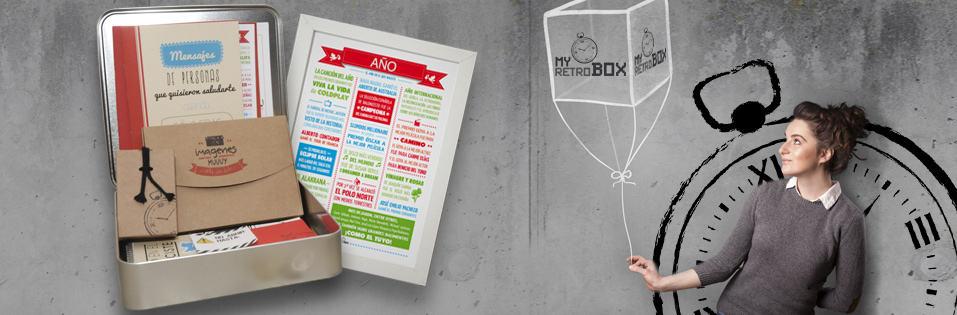 MyRetrobox, cápsulas del tiempo para niños y bebés
