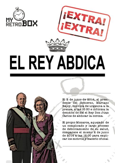 Abdicación del Rey Don Juan Carlos
