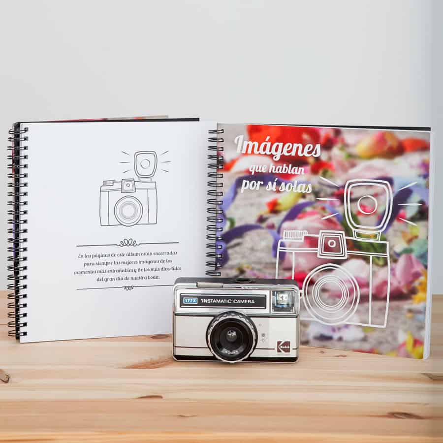 Capsula del tiempo bodas Retrobox Sí Quiero: Álbum de fotos