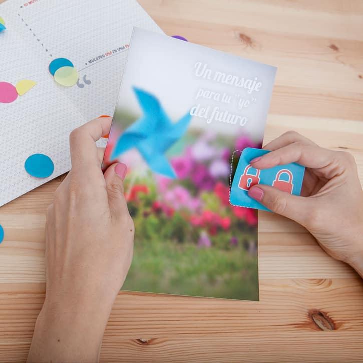 Capsula del tiempo bodas Retrobox Sí Quiero: Carta a la pareja