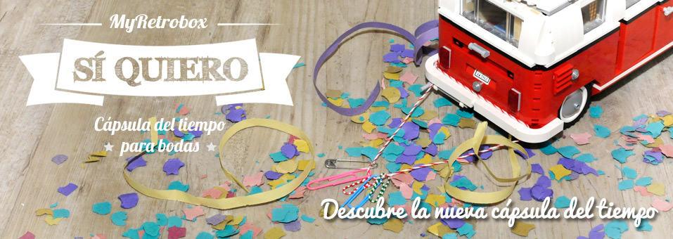 MyRetrobox Sí Quiero | Regalo original para bodas