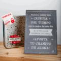 Capsula del tiempo bodas Retrobox Sí Quiero: Lámina caja de recuerdos