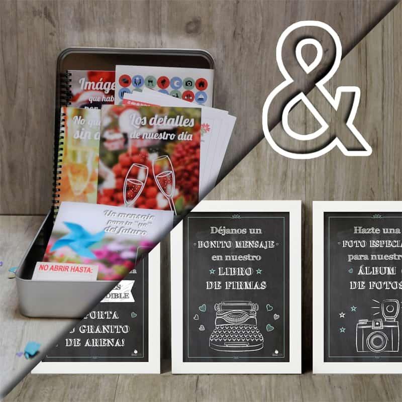 Pack MyRetrobox Sí Quiero + Pack 3 Láminas