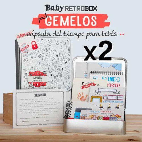 Cápsula del tiempo bebés Baby Retrobox: Gemelos o mellizos