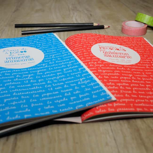Diario y libreta de firmas   Regalo bebé