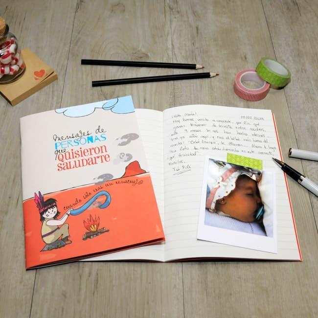 Libreta mensajes | Baby MyRetrobox, regalo bebé