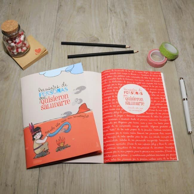 Libreta de mensajes Baby MyRetrobox | Regalo bebé