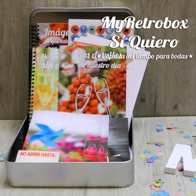 MyRetrobox Sí Quiero   Cápsula del tiempo para bodas