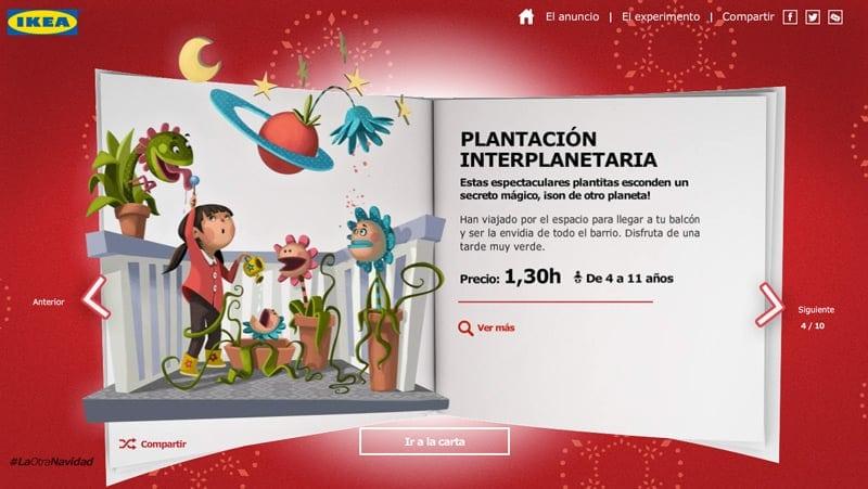 Catálogo La Otra Navidad, de Ikea