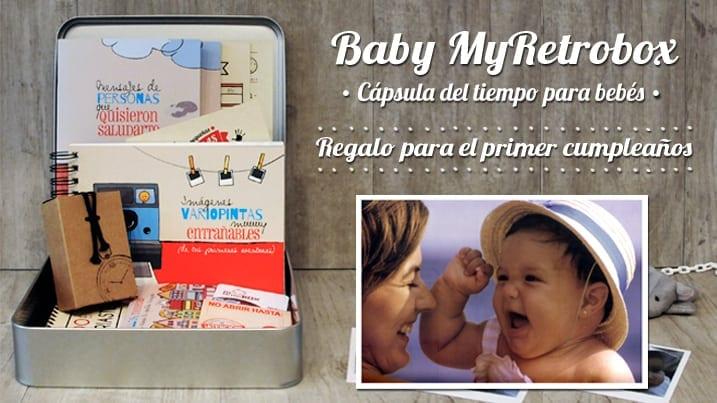 Baby MyRetrobox: Regalo perfecto primer cumpleaños
