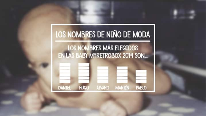 Nombres masculinos bebe moda 2014