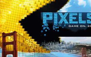 Pixels, la película