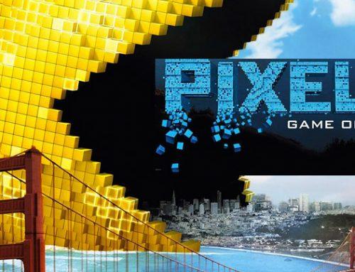 Pixels: de cápsulas del tiempo y videojuegos!