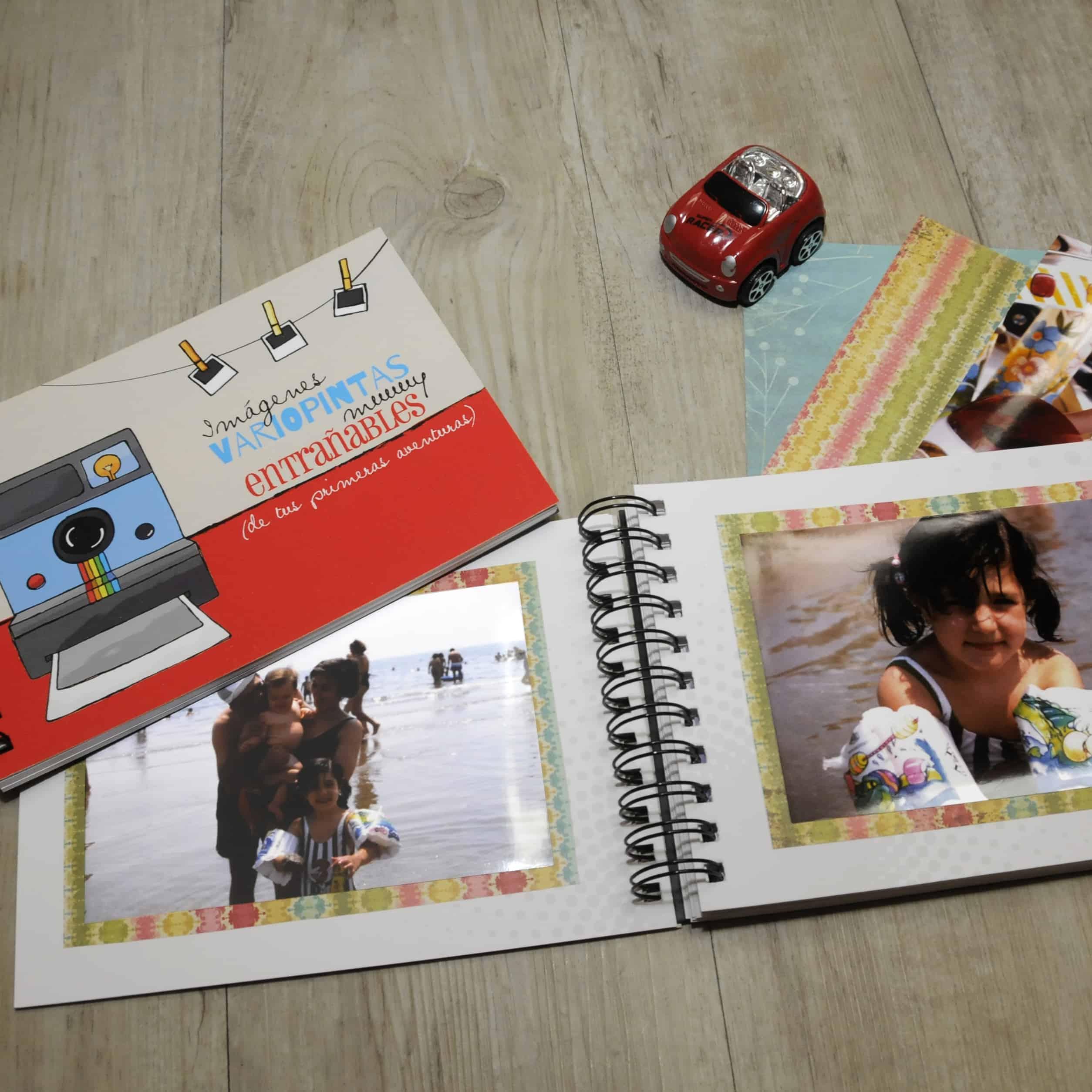 Album Fotos Peque Retrobox Capsula del tiempo niño
