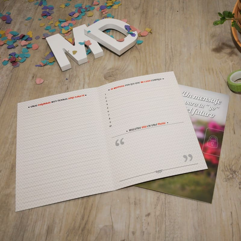 My Retrobox Sí Quiero | Carta para la pareja