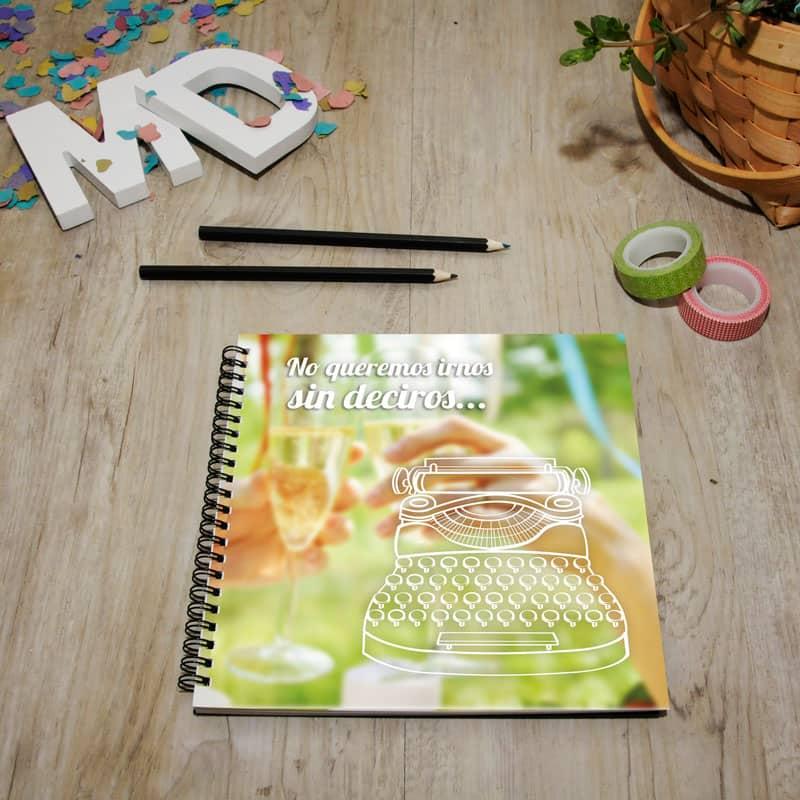 My Retrobox Sí Quiero | Libro de firmas