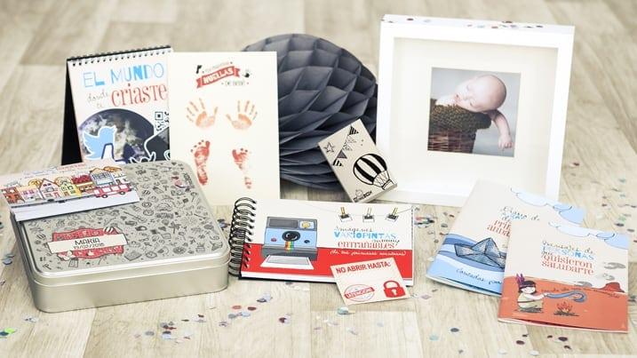 Regalo navidad bebé: Capsula del tiempo bebé Baby Retrobox