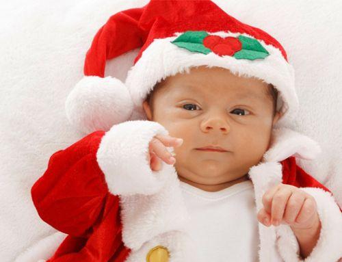 El regalo de Navidad para un bebé más especial