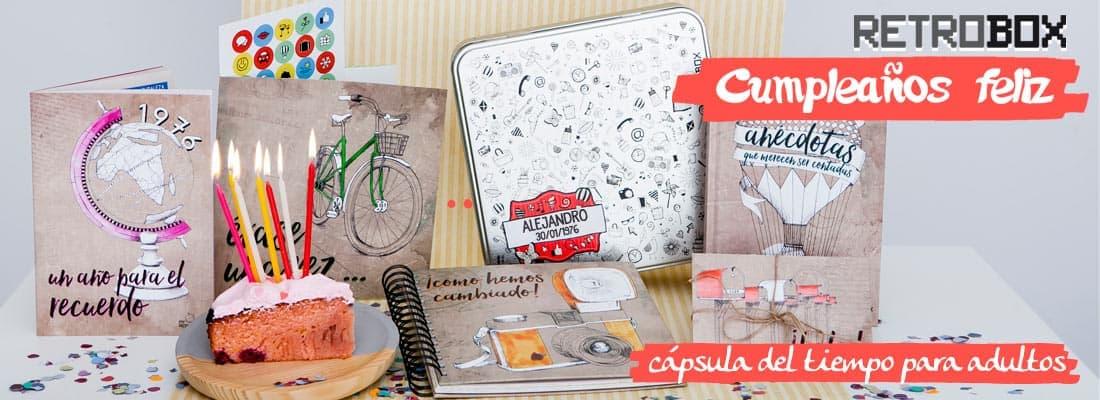 Retrobox Cumpleaños Feliz, regalo original