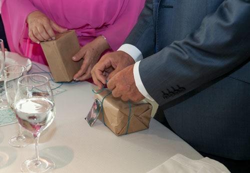 Qué regalar futuros padres en boda