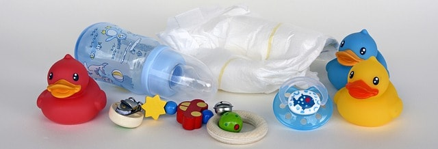 Objetos básicos del bebé