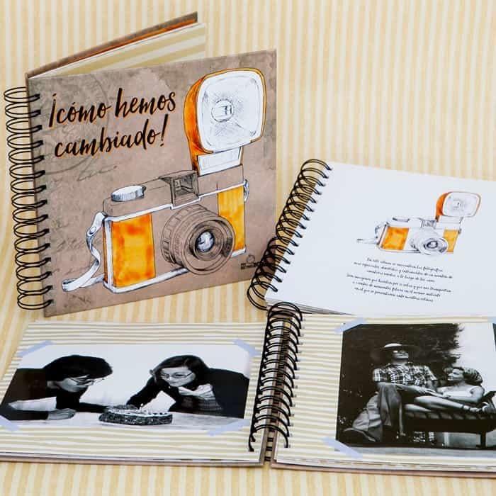 Álbum de fotos Retrobox Feliz Aniversario