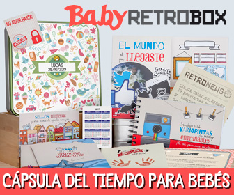 Baby Retrobox, cápsula del tiempo para bebés