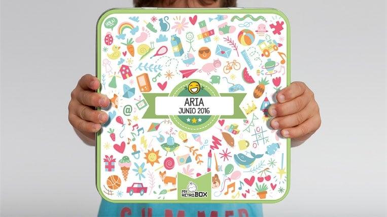 el nombre de bebé niña Aria
