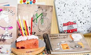 Cápsula del tiempo Retrobox Cumpleaños Feliz para cumpleaños