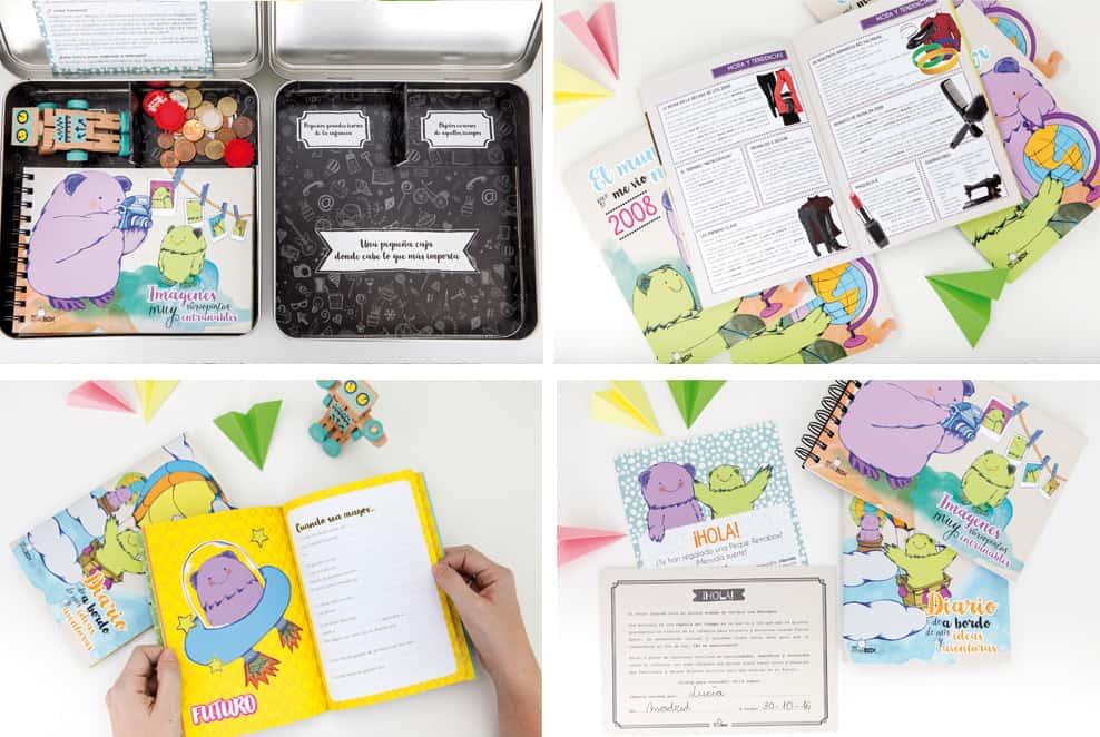 Regalo 10 cumpleaños para un niño o niña: Peque Retrobox