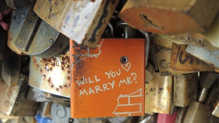 Propuesta matrimonio original