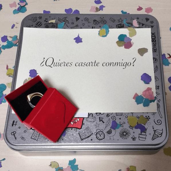 Pedir matrimonio de forma original con MyRetrobox