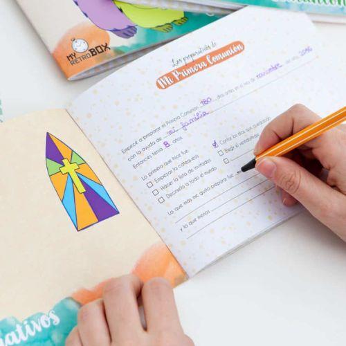 Cuaderno Primera Comunión - Regalo