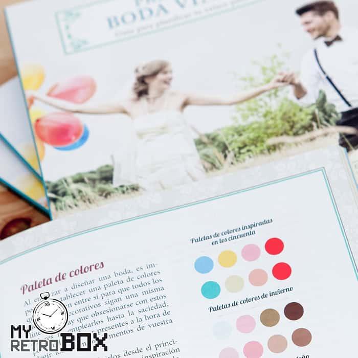 Prepara tu boda vintage - Paleta de colores