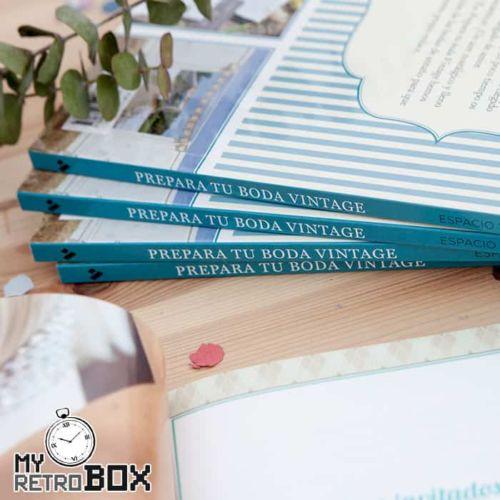 Prepara tu boda vintage - Libro